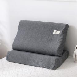 (总)芈月 2019新款水洗棉乳胶枕套一只