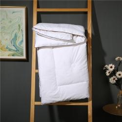 高伦雅芙KIDS 60支贡缎提花棉花被 白色