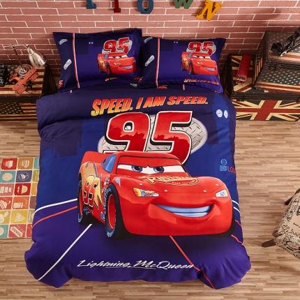 (总)迪士尼家居馆 化纤磨毛套件床单款