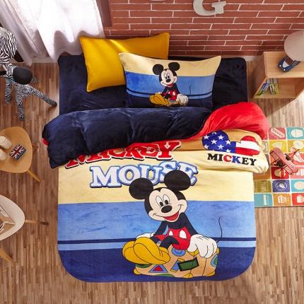 迪士尼家居馆 迪士尼法莱绒套件MU-613