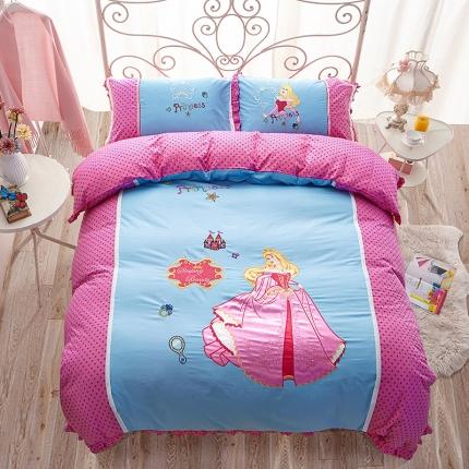 迪士尼家居馆 全棉印加绣套件床单款PR-516