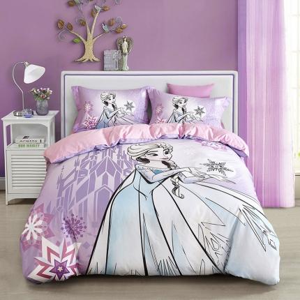 迪士尼全棉13372数码印花三件套四件套床单款FZ-0218