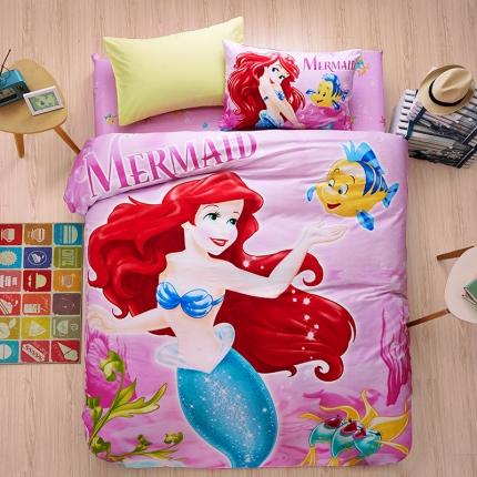 迪士尼家居馆13372全棉活性印花宽幅套件床单款PR-069