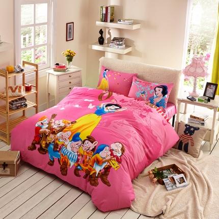 迪士尼家居馆13372全棉活性印花宽幅套件床单款PR-157
