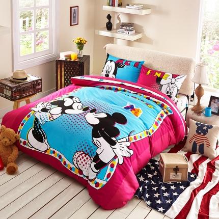 迪士尼 13372全棉活性印花窄幅套件床单款MU-3795