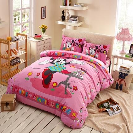 迪士尼 13372全棉活性印花窄幅套件床单款MU-4072