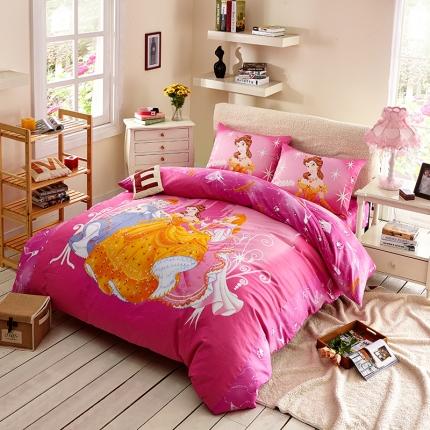 迪士尼 13372全棉活性印花窄幅套件床单款PE-739