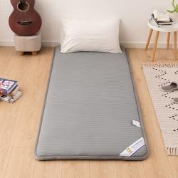 贝织家纺 2019新款上下铺学生宿舍寝室床垫亲肤床垫灰色条纹