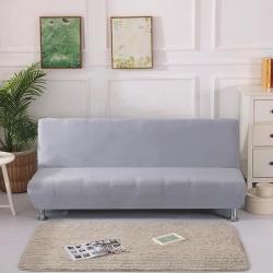 大G垫业 2019新款折叠沙发床套 纯灰色