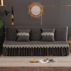 丽朝国际 意大利绒秋冬沙发床罩夹棉沙发巾沙发套垫 咖