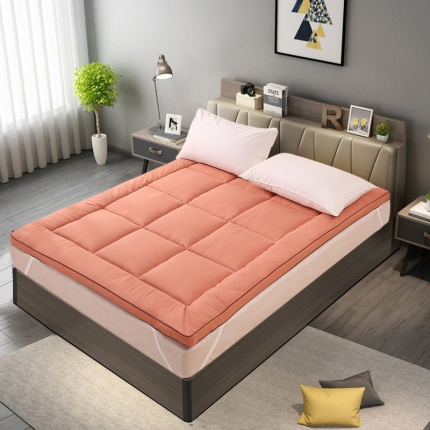 恒贵家纺 2019新款900克的立体床垫 杏桃