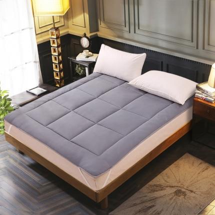 恒贵家纺 2019新款350克的直包床垫 灰色