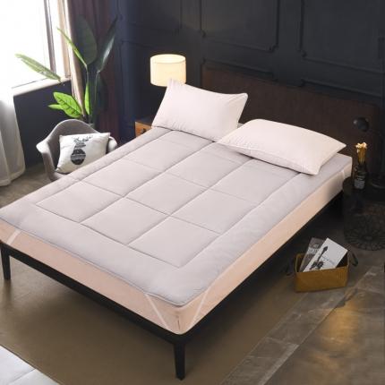 恒贵家纺 2019新款350克的直包床垫 浅灰