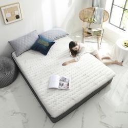 依诺床垫  2019新款乳胶床垫6-10cm 羽毛-白色