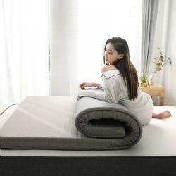 依诺床垫  2019新款乳胶床垫 灰色(厚度6cm)