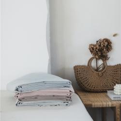 (总)8小时 2019新品纯色绣花水洗棉单品床单