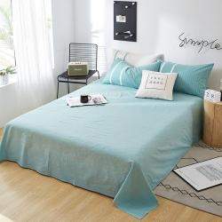 (总)平头哥家纺 2019全棉色织水洗棉单床单