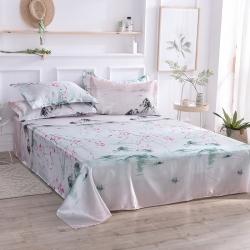 (总)壹点利家纺 2019年最新款印花冰丝单件床单