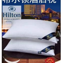 (總)天商枕芯 2019火爆款希爾頓枕頭枕芯中低高枕廠家直銷