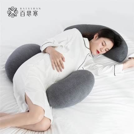 百思寒 2019新款圆孕妇枕