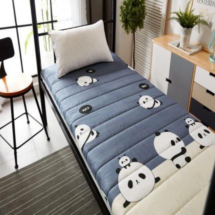 天依舍家纺 2018新款厚床垫 熊猫仔