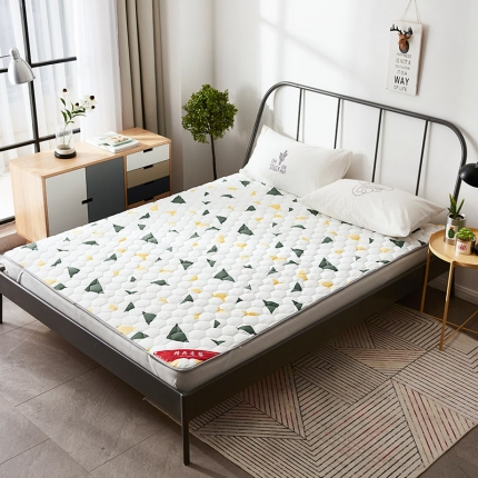 (总)天依舍家纺 印花薄床垫