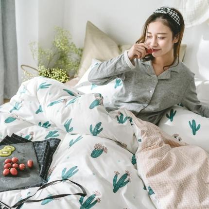 小米家居 2018新款全棉光阴故事系列床单款 绿光