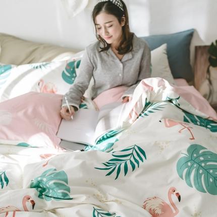 小米家居 2018新款全棉光阴故事系列床单款 鸟语叶香