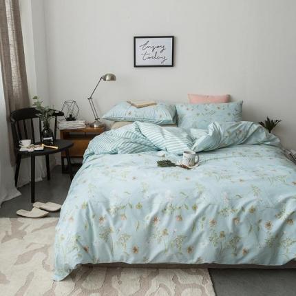 小米家居 2018新款全棉自然森系风系列床单款 南巷清风