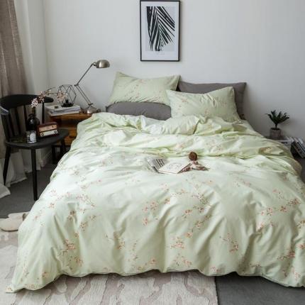 小米家居 2018新款全棉自然森系风系列床单款 玉琉璃