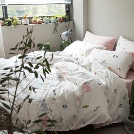 小米家居 2018新款全棉寂静文艺风系列床单款 一米阳光