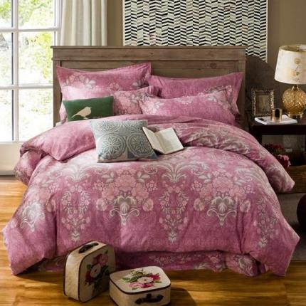 (总)凯磊家纺 生态磨毛四件套床单款