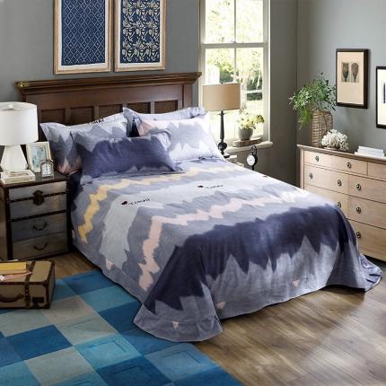 (总)凯磊家纺 生态磨毛单品床单