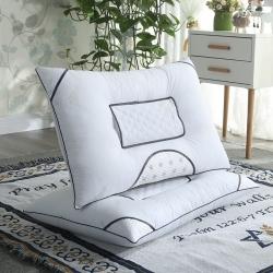 供应老人用草本护颈磁石枕决明子保健养生枕头批发珍珠棉颈椎枕芯