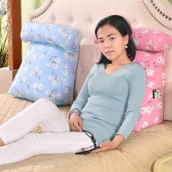 (总)李帅家居 棉麻三角靠垫圆柱枕芯三角靠背三角抱枕加工生产
