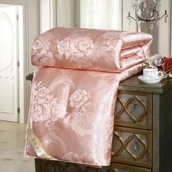 (總)尊妙被業 皇家風情牡丹花貢緞蠶絲被夏被空調被春秋冬被