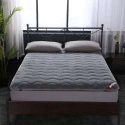 法莱绒加厚榻榻米床褥子宿舍90cm/1.5m/1.8m床垫