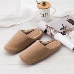(总)良品汇馆 全棉软底拖鞋日式家居地板拖鞋无印良品风格新品
