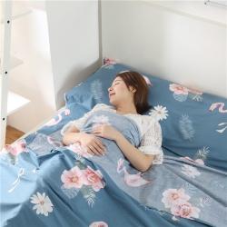 床笠坊 旅游宾馆隔脏纯棉睡袋 室内单双人旅行酒店防脏被套床单