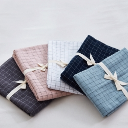 (总)北欧良品 2019全棉水洗棉单枕套 单只装 一对拍2