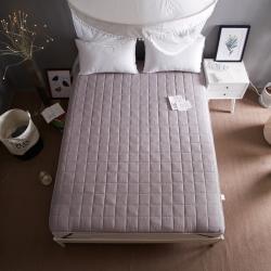 【墊之坊】全棉正方格床墊床褥純棉絎繡加厚夾棉床褥單人雙人