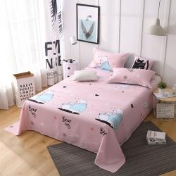 (总)鑫程家纺新品128×68全棉印花单床单