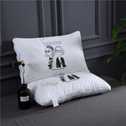 (總)賽格時代家居枕芯 全棉立體羽絲絨枕芯 枕頭