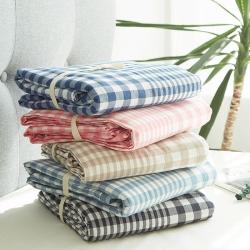 北欧良品(7规格现货)水洗棉被套单品无印良品全棉被套单件