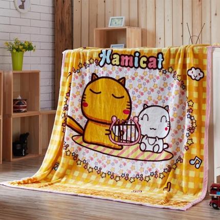 (总)荣轩家纺 法莱绒加厚童毯盖毯毛毯珊瑚绒毯