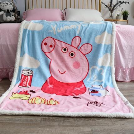 (总)法莱绒毛毯羊羔绒毛毯 儿童毯 学生毯婴儿抱被毯童毯