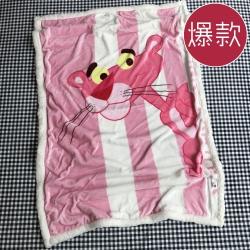韩版卡通羊羔绒毯珊瑚绒毯子法莱绒盖毯幼儿园午睡盖被子阿狸