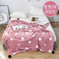 羊羔绒毯空调毯子兔兔绒毯沙发盖毯水晶绒毯珊瑚绒床单法莱绒毛毯