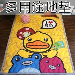 (总)萝莉家纺 卡通地垫卧室床边垫瑜伽垫儿童爬行垫宝宝游戏垫