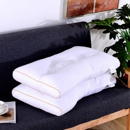 艾丽丝枕芯 大豆纤维软枕 48*74CM 超柔可水洗护颈低枕